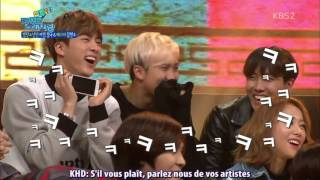 VOSTFR 160208 BTS Manager Melts Because Of Jimin Jungkook National Idol Singing Contest
