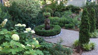 🌳 Small Garden Design Tour - Gravel Garden 🌳
