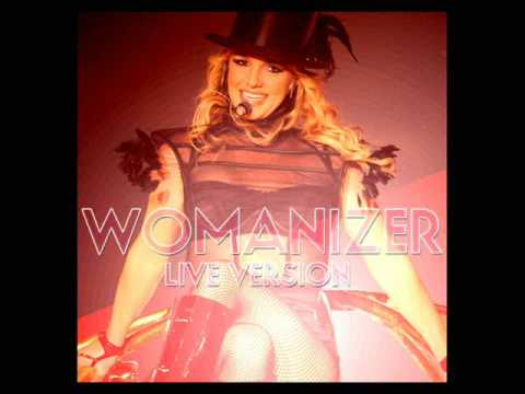 Britney Spears - Womanizer (Live  Version HQ)STUDIO!with Download Link