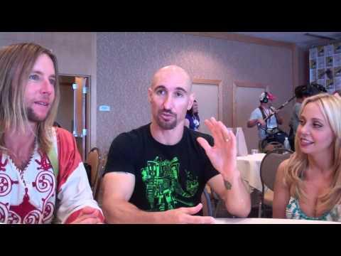 SDCC 2014: Teen Titans Go!  Greg Cipes, Scott Menville & Tara Strong