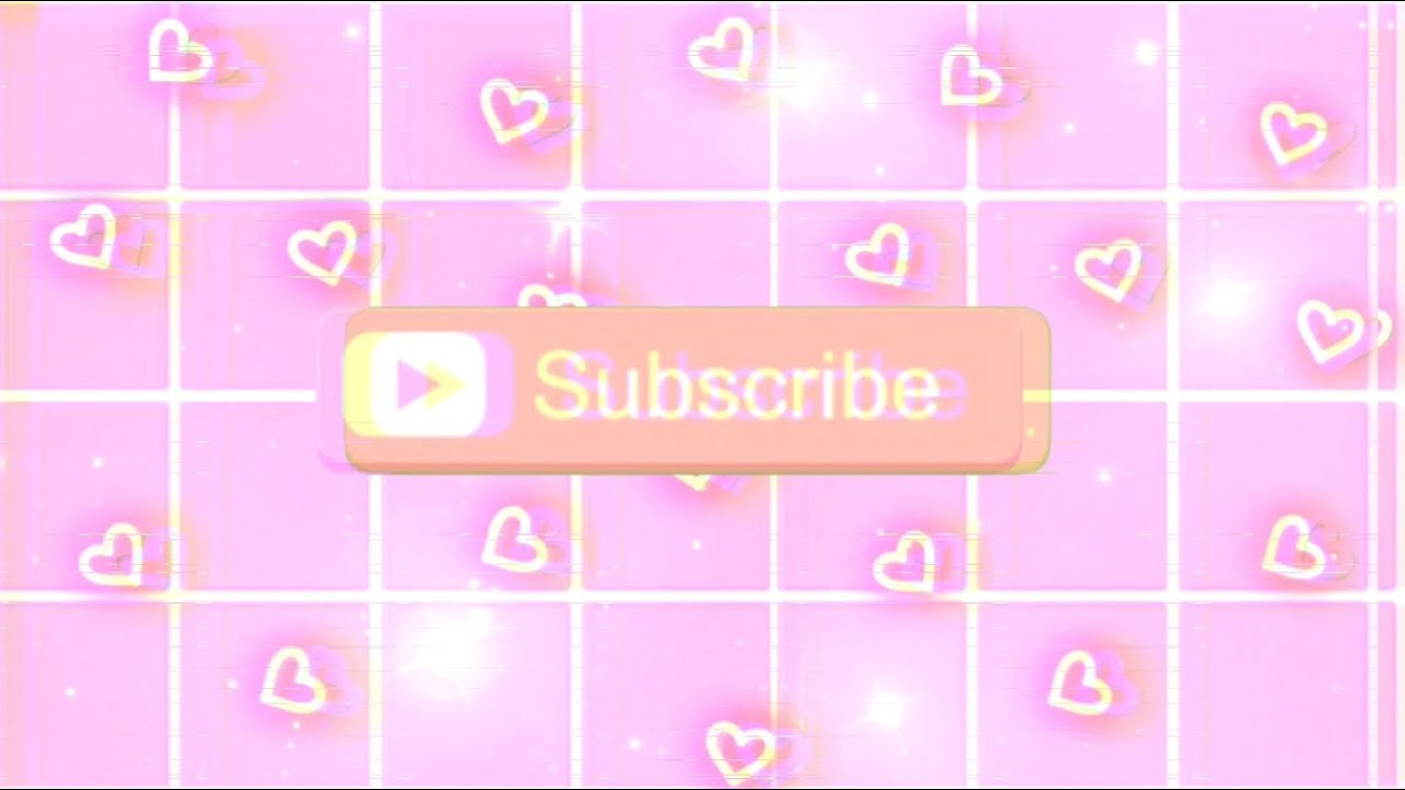 Aesthetic Intro Template 3 No Sound W Subscribe Button Youtube