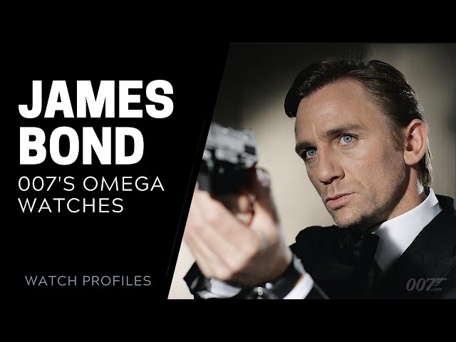James Bond's Omega Watches | SwissWatchExpo [Omega Watches]