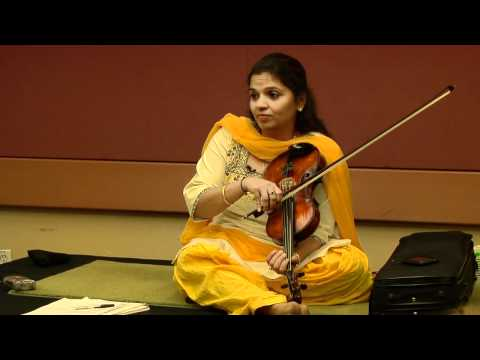 Authentic Nuance to the Sound of Raga Music: Kala Ramnath Session - Zakir Hussain Workshop