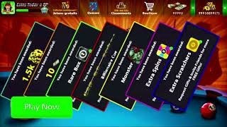 8Ball Pool Rewards Link Spin + Coins 🎱 توزيع روابط هدايا اليوم لزيادة الكوينز في لعبة  8 بال بول