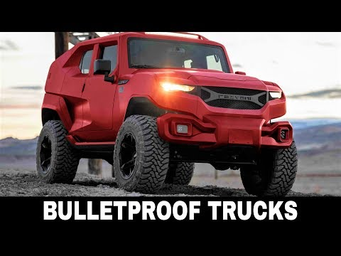 9 Best Trucks and Vehicles Armored and Customized to Protect Lives with Comfort
