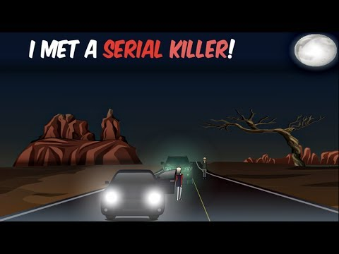Download The Day I Met a Serial Killer...close call   TRUE Horror Story (ANIMATED)