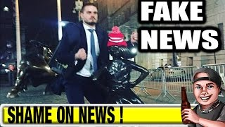 Guy HUMPS Fearless Girl - is FAKE NEWS !