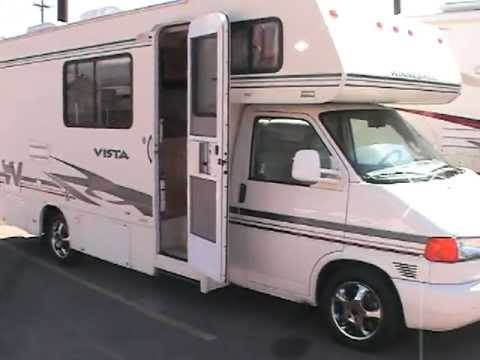 2003 Winnebago Vista Motorhome Volkswagen Class B Youtube