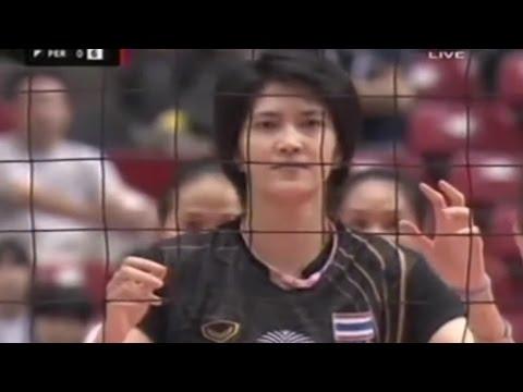 มาดูเร็ว เปรูแจกแต้มไทยใหญ่เลย [วอลเลย์บอล คัดโอลิมปิก Thailand - Peru] Olympic Qualification 2012