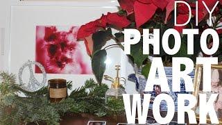 Turn Photos into Framed Art