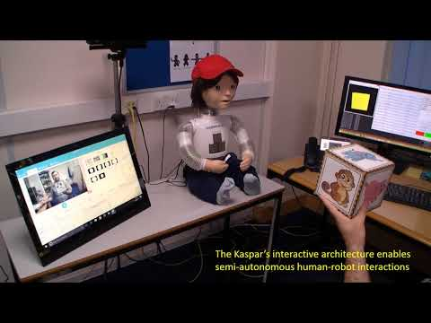 Kaspar Assists Children with Autism in Developing Visual Perspective Taking (VPT) Skills