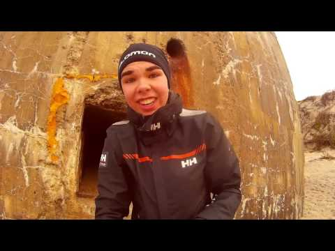 Julien in Dänemark #Tag5 - Bunkertour, Strand und noch mehr Bunker