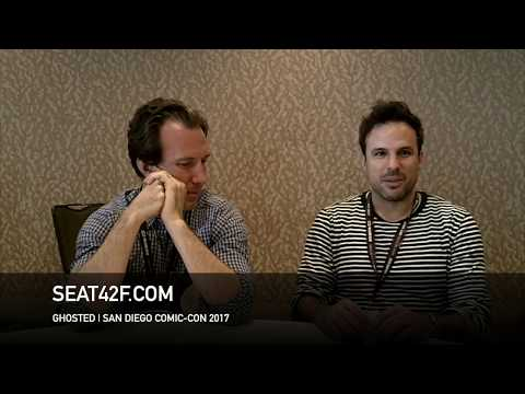 Kevin Etten, Tom Gormican GHOSTED  Comic Con