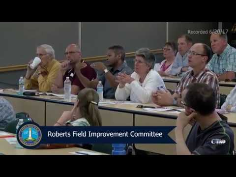 Roberts Field Public Input Session - June 6, 2017