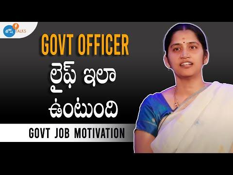 Government officerకి ఎదురయ్యే సవాళ్లు   Mangala Deepti   Josh Talks Telugu