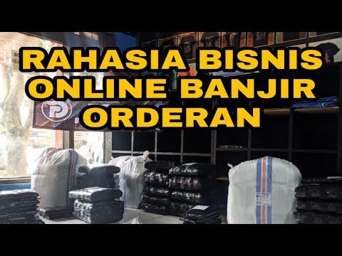 CARA BISNIS ONLINE BANJIR ORDERAN - YouTube