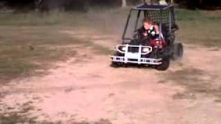 Kandi Hummer Kids Size Go Kart Demo - 3 Speed with Reverse #3
