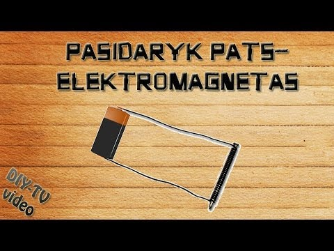 how to make a electro magnet