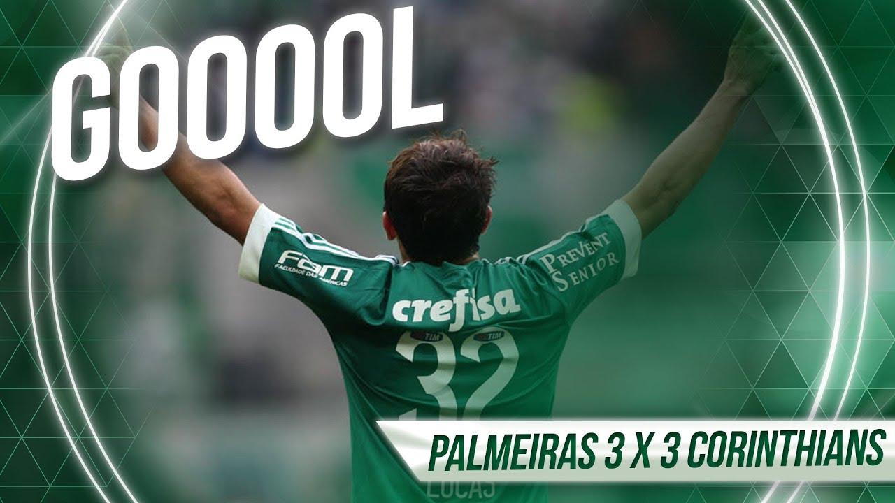 Gols - Palmeiras 3 x 3 Corinthians - Brasileirão 2015 ...