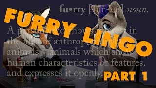 Episode 15: Furry Dialect and Lingo Part 1