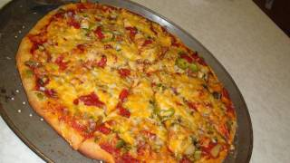 How to make Spicy 🌶 Masala pizza for indian taste bud - Video Recipe