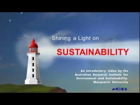 Shining a Light on Sustainability