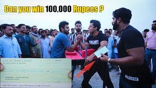 Arm Wrestling Challenge for 100000 Rs