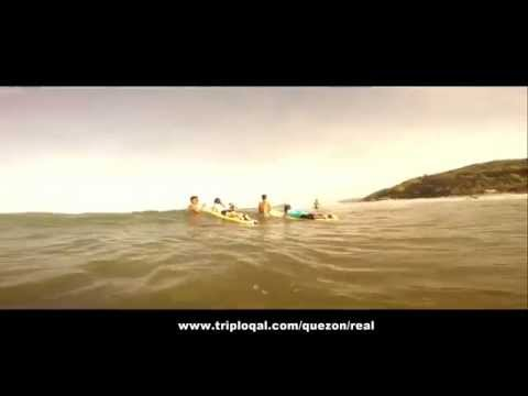 Surfing Lesson at Real Quezon