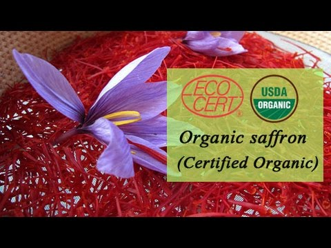 Organic Saffron supplier in Portugal