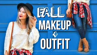 Fall Makeup Routine + Outfit! Get Ready With Me 2016!