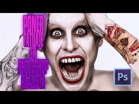 Tutorial Photoshop   Poner Tatuaje Realista Con Photoshop (Photoshop Realistic Tattoo)