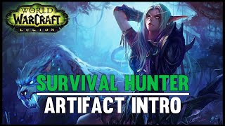 Survival Hunter Artifact Intro - Legion Beta - FATBOSS