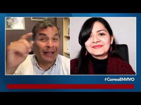 Entrevista al Expresidente Rafael Correa Delgado.