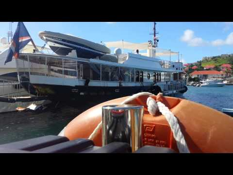 Sycara yacht in St bart. Ray catena lives life!