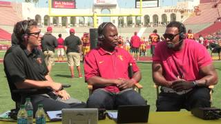 Trojans Live Spring Game - Willie McGinest