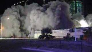 Desert Inn/Wynn Parking Garage Implosion