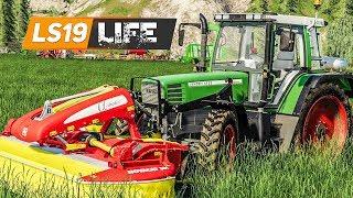 LS19 LIFE #30: Gras-Schnitt für die Gras-Silage! | FARMING SIMULATOR 19