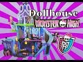 Barbie MONSTER HIGH DOLLHOUSE & Ever After High Toy Review