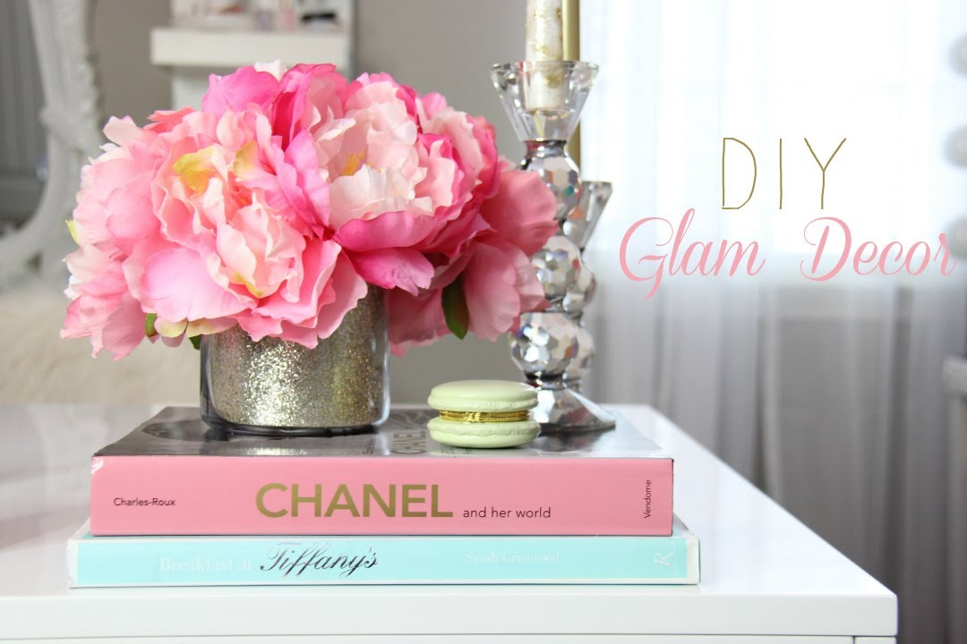 DIY Room Decorations For A Girly Office, Makeup Room, Vanity   MissLizHeart    YouTube