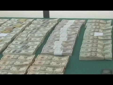 Plane drops $1m in suspected drug money over Bolivian town