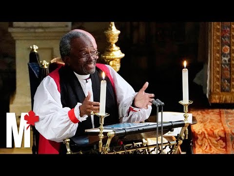 Michael Curry's stunning royal wedding sermon