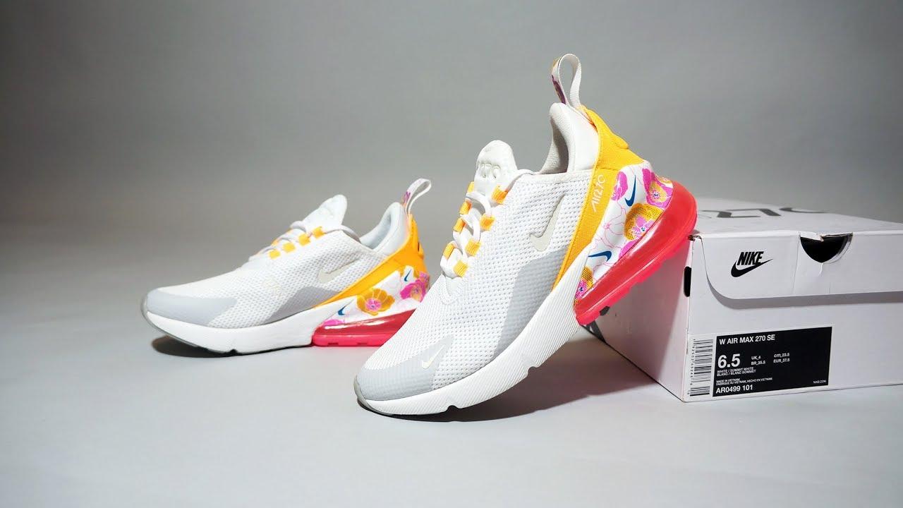 Nike Air Max 270 SE Floral Pink AR0499 101