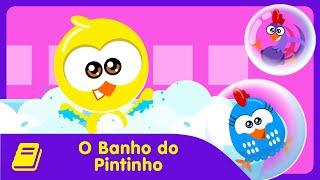Galinha Pintadinha Mini - Historinha - Banho do Pintinho