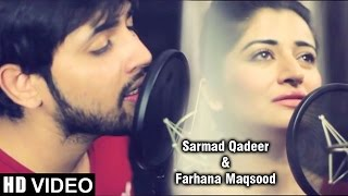 tanha hai tuje bin raatain meri sarmad qadeer farhana maqsood | Full Lyrics  at Details 👇