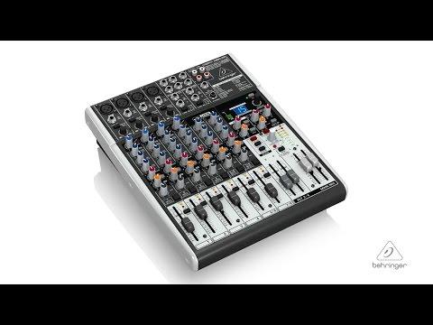 XENYX X1204USB Premium 12-Input 2/2-Bus Mixer