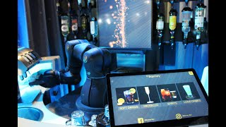 Our robot bar Barney served 1300+ drinks at Host Milano