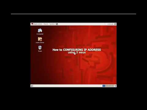 How to change ip address in rhel 6.5
