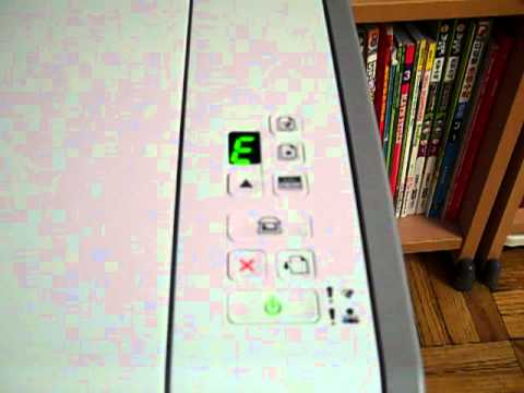 Lexmark printer error message