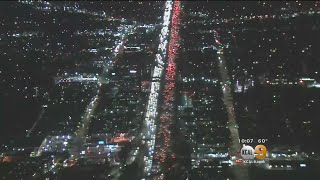 Record Number Of Commuters Expected To Get Out Of Town This Holiday Weekend