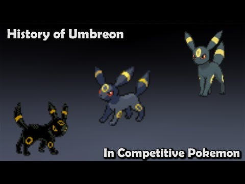 How GOOD was Umbreon ACTUALLY? - History of Umbreon in Competitive Pokemon (Gens 2-6)